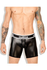 Outtox Open rear cyling shorts black
