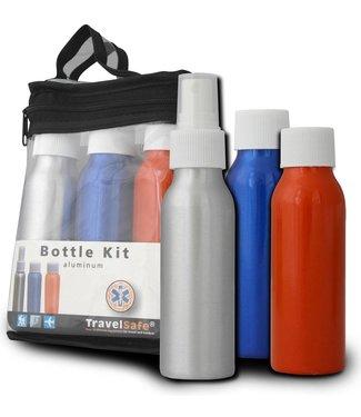 Travelsafe Travelsafe Bottle Kit aluminium