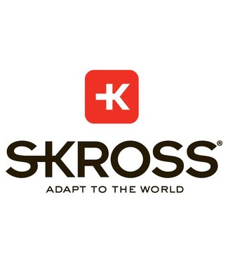Skross Skross World Travel Adapter met USB Charger, Zwart
