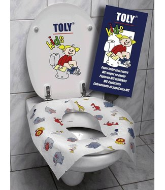 Toly Toly Kids WC-brildekjes Travel Pack 10 st.