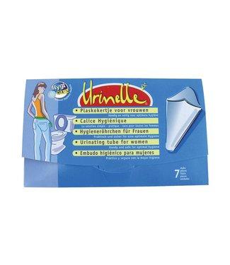 Urinelle plaskoker voor vrouwen, 7 stuks