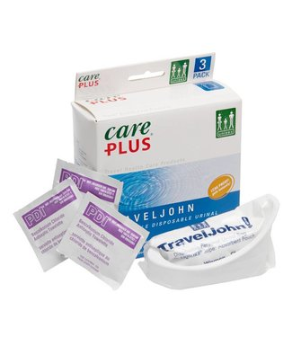 Care Plus Care Plus Travel John wegwerp plaszakjes (per 3)