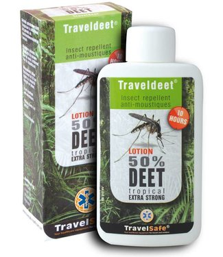 Travelsafe Travelsafe Traveldeet Lotion 50%
