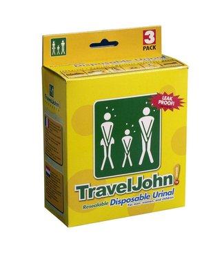 TravelJohn TravelJohn wegwerp plaszakken (3 stuks)