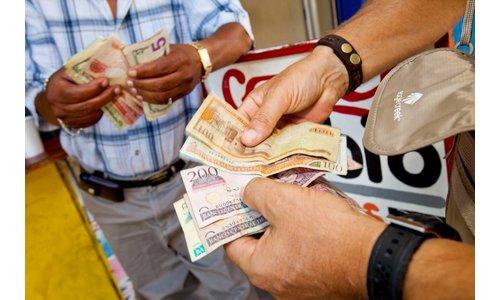 Geld opbergen