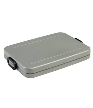 Mepal Mepal Lunchbox Take a Break Flat, zilver