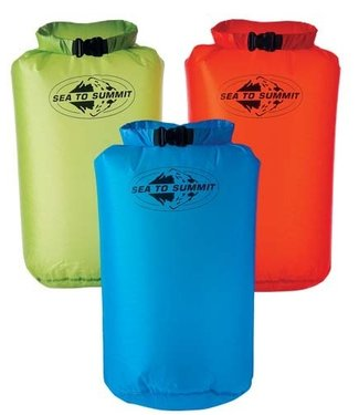 Sea To Summit Sea To Summit Ultra Siliconen Dry Sac 13 liter,  oranje