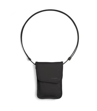 Pacsafe Pacsafe Coversafe X75 RFID-blocking neck pouch, zwart