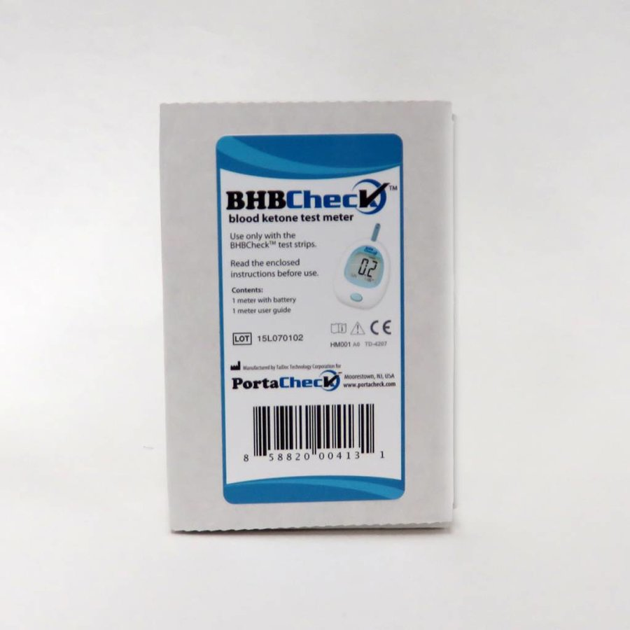 Porta BHBCheck Ketone blood test (starter set incl. 10 tests)-2
