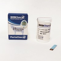 thumb-Porta BHBCheck Ketone blood test (starter set incl. 10 tests)-5