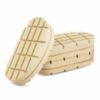 Hoof block wood (per piece)