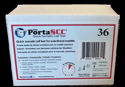 PortaSCC celgetal sneltest (36 tests per doosje)