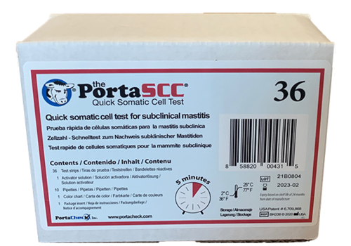 PortaSCC cell count rapid test (36 tests per box)