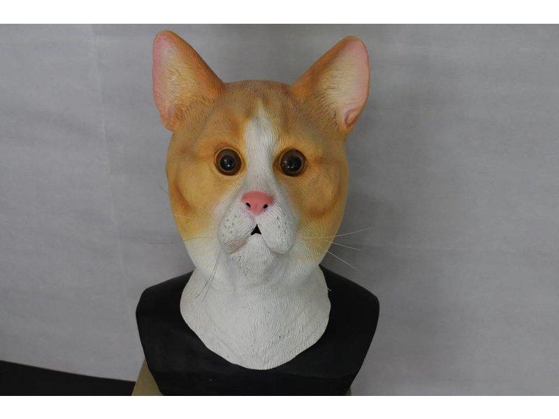 Kattenmasker (cyper rood)