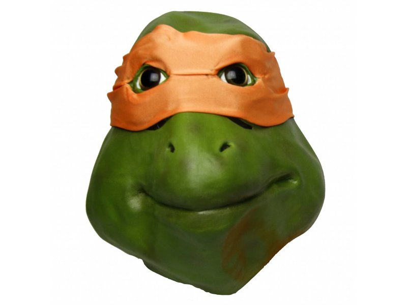 Adult Teenage Mutant Ninja Turtles Michelangelo Turtle Mask Costume Accessory