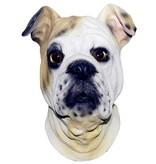 latex hondenmasker 'bulldog'