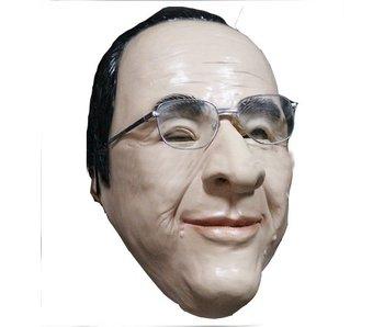 President François Hollande masker (zonder bril)
