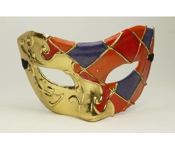 Venetiaans bal masker 'Columbina Ypa'