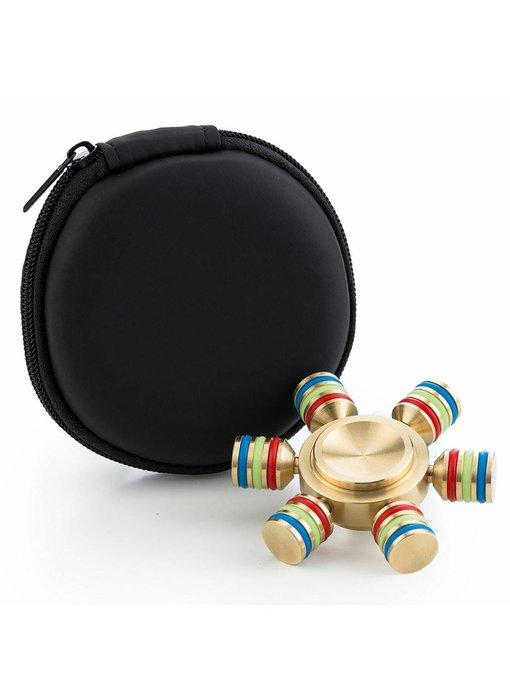Fidget Spinner Deluxe goud