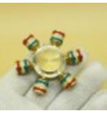 Fidget Spinner Goud Deluxe met 6 zijden