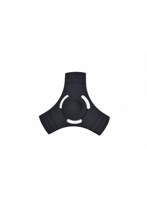 Fidget Spinner metaal zwart