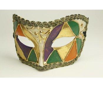Venetian mask 'Multicolore Mardigras'