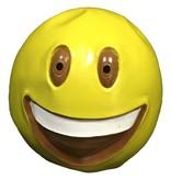 Emoji masker 'Grote lach' (emoticon)