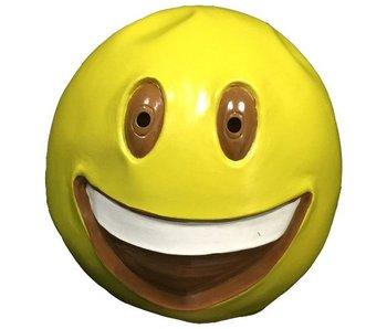 Emoji masker Grote lach :-D