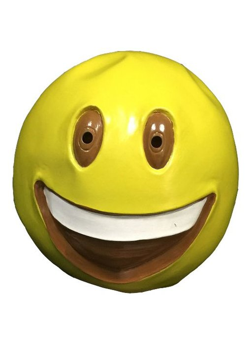 Emoji masker 'Grote lach'