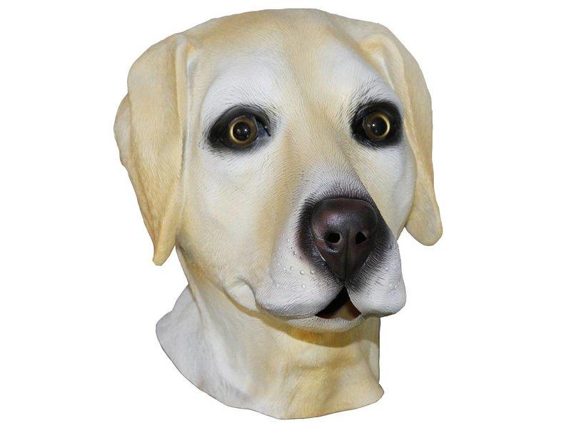 latex hondenmasker 'labrador'