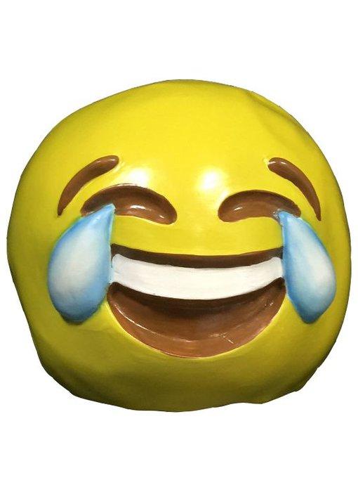 Emoji masker 'Huilende lach'