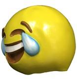 Emoji masker 'Huilende lach' (emoticon)