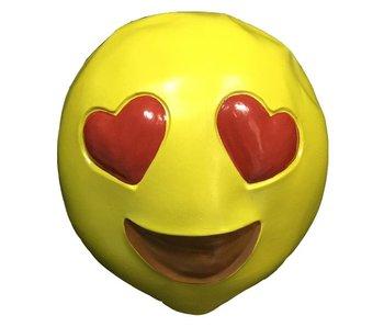 Maschera Emoji 'Innamorato'