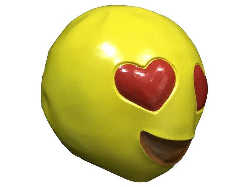 Emoji masker 'Verliefd'