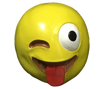 Emoji mask 'Crazy'