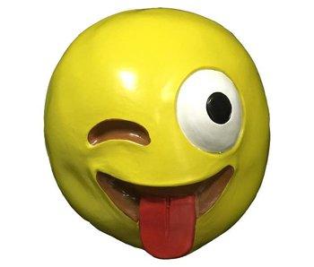 Emoji masker 'Crazy'