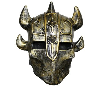 Knight mask 'helmet with horns'