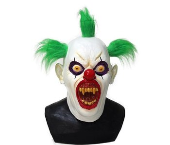 Killer Clown mask - 'Greeny'