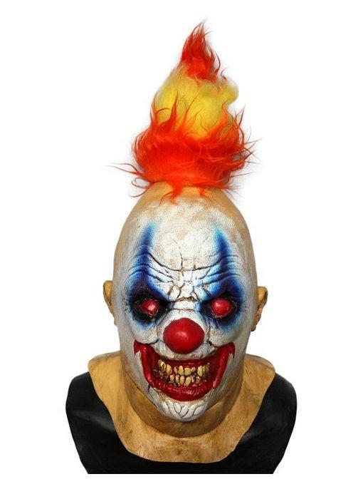 Horror clown masker 'Fire Devil'