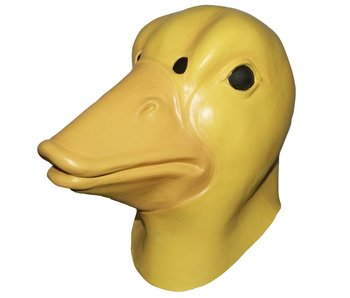 Duck mask - yellow