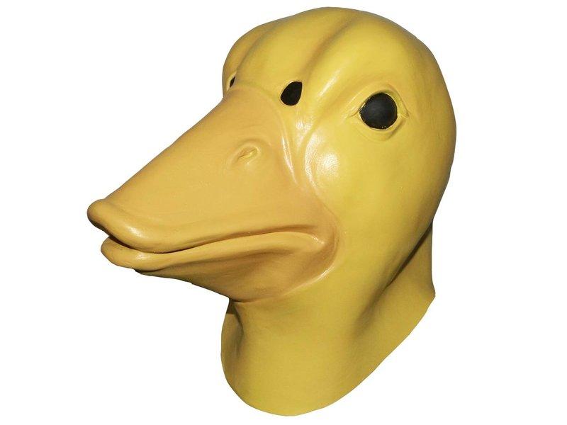 Latex eendenmasker 'jonge eend'