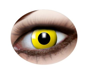 Yellow eye lenses
