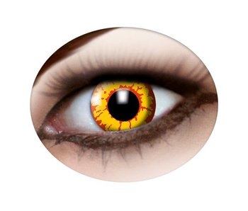 Vampire eye lenses - yellow red
