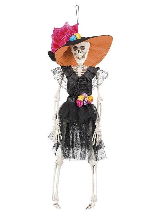 Dia de los Muertos skeletje 'La Flaca'
