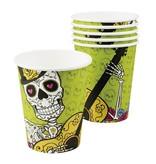Bicchieri Dia de los Muertos (6 pz,25 cl)