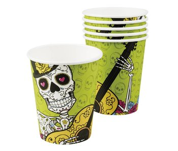 6 Cups Day of the dead 25cl