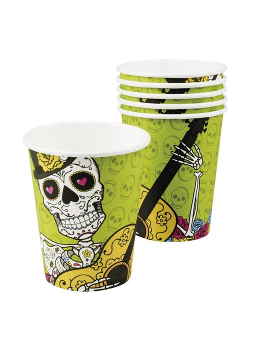 6 Bekertjes Day of the dead (25 cl)
