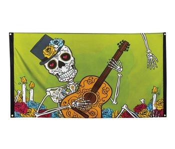 Bandiera Dia de los Muertos