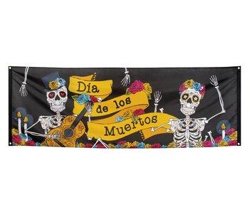 Dia de los Muertos banner (74 x 220 cm)