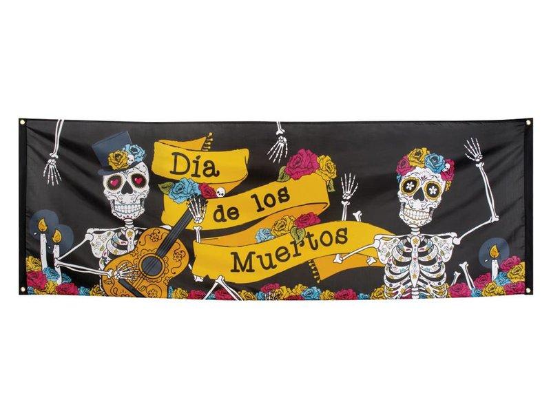 Dia de los Muertos banner (74 x 220 cm) – Day of the dead decoratie